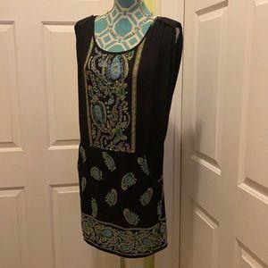 Angie paisley Dress.